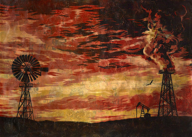 Shepard Fairey-Evolve DeEvolve-2008
