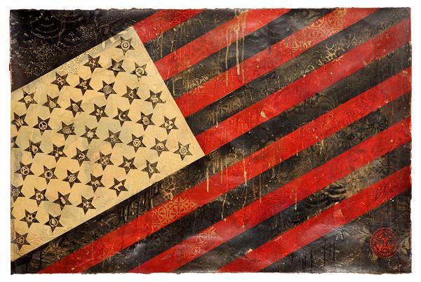 Shepard Fairey-Flag-2010