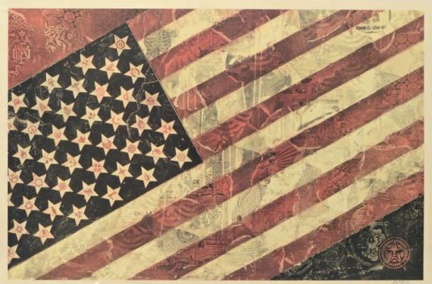 Shepard Fairey-Flag-2011