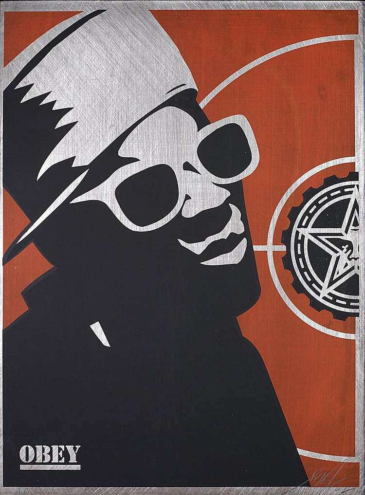 Shepard Fairey-Flava Flav-2002