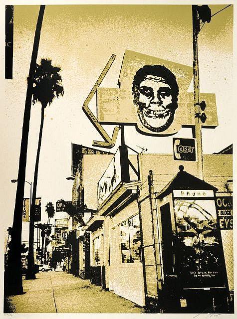 Shepard Fairey-Friend Skull-2005