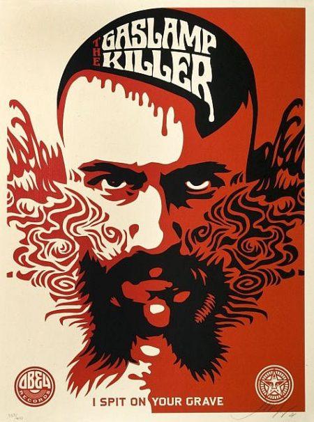 Shepard Fairey-Gaslamp Killer-2008