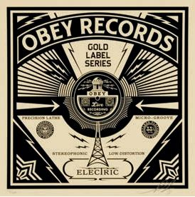 Shepard Fairey-Gold Label Series-2014