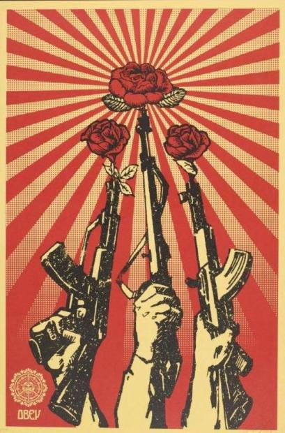 Shepard Fairey-Guns and Roses-2007