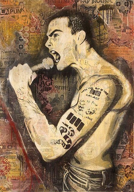 Shepard Fairey-Henry Rollins-2011
