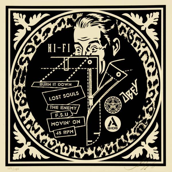 Shepard Fairey-Hi Fi-