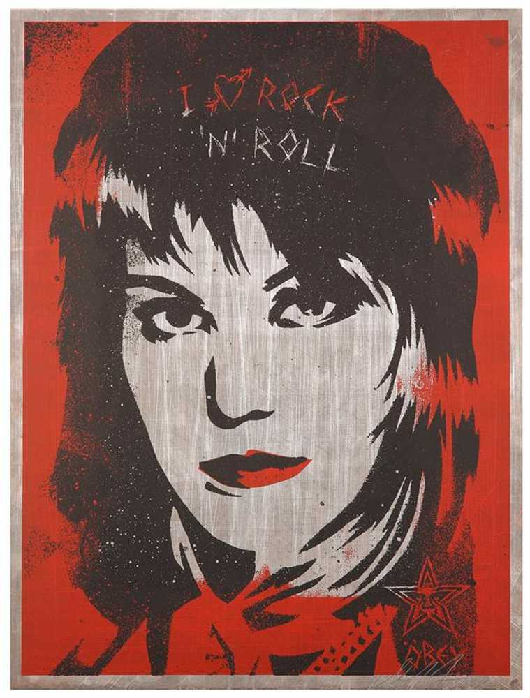 Shepard Fairey-I Love Rock 'N' Roll-2003