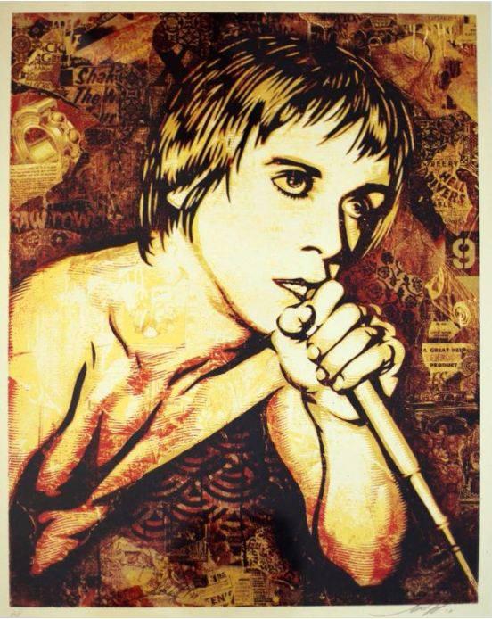 Shepard Fairey-Iggy Pop-