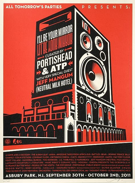 Shepard Fairey-I'll Be Your Mirror-2011