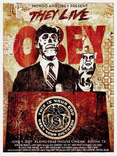 Shepard Fairey-Invasion Los Angeles (They live)-2011