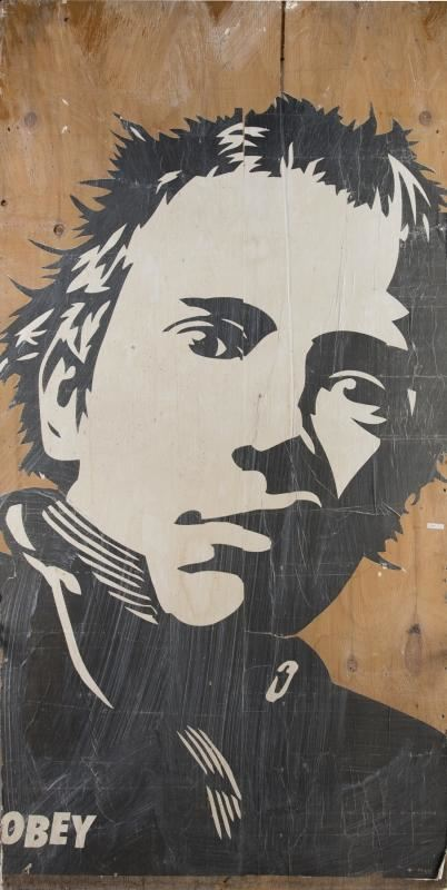 Shepard Fairey-Johnny Rotten-