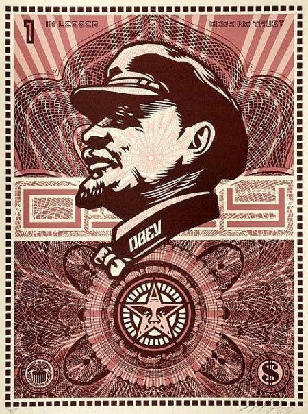 Shepard Fairey-Lenin Money-2003