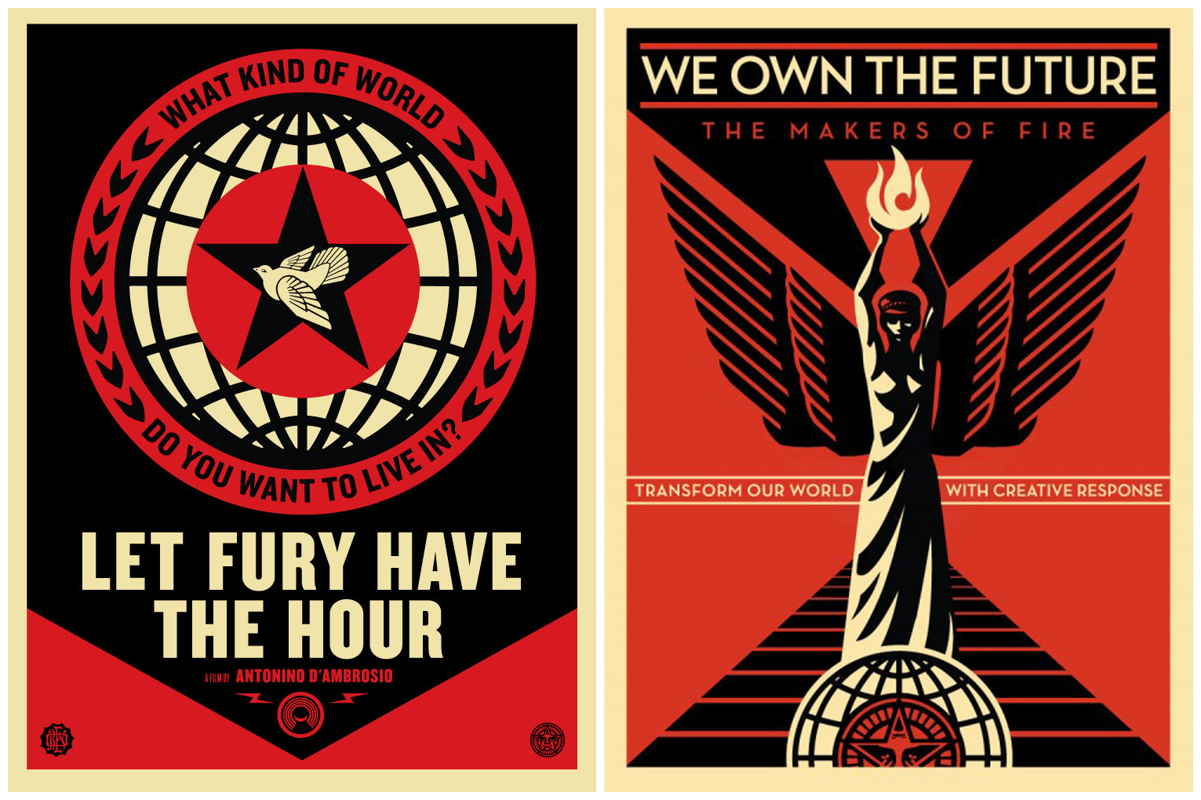 Shepard Fairey-Let Fury Have the Hour/We Own the Future-2013