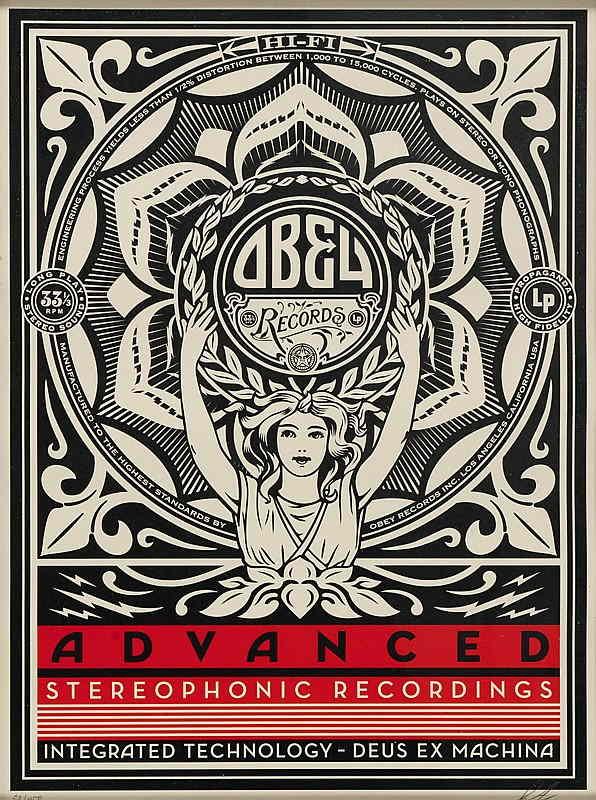 Shepard Fairey-Lotus Woman-2013