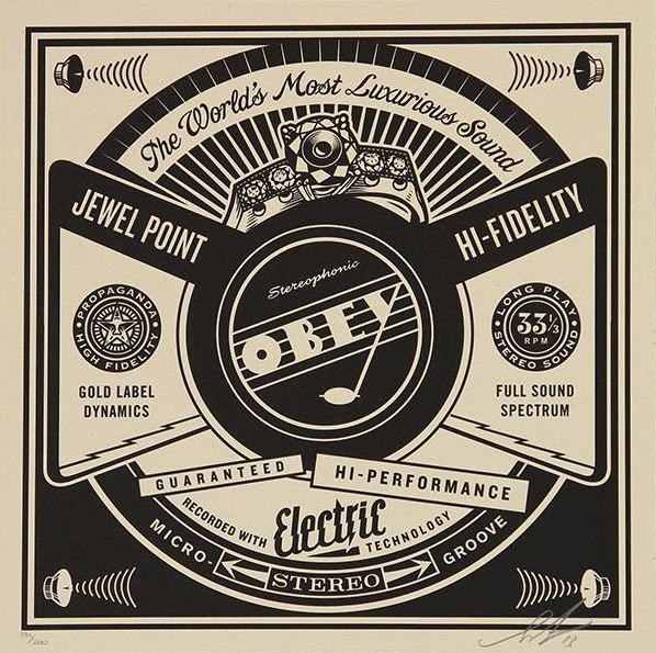Shepard Fairey-Luxurious Sound-2014