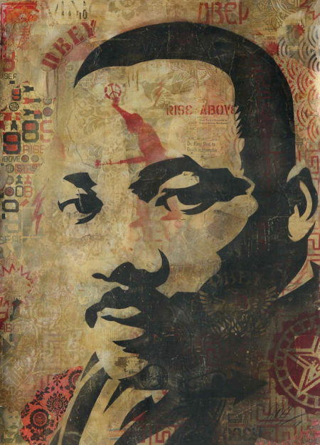 Shepard Fairey-MLK - Martin Luther King-2004