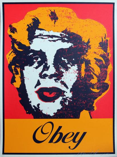 Shepard Fairey-Marilyn Warhol-2000