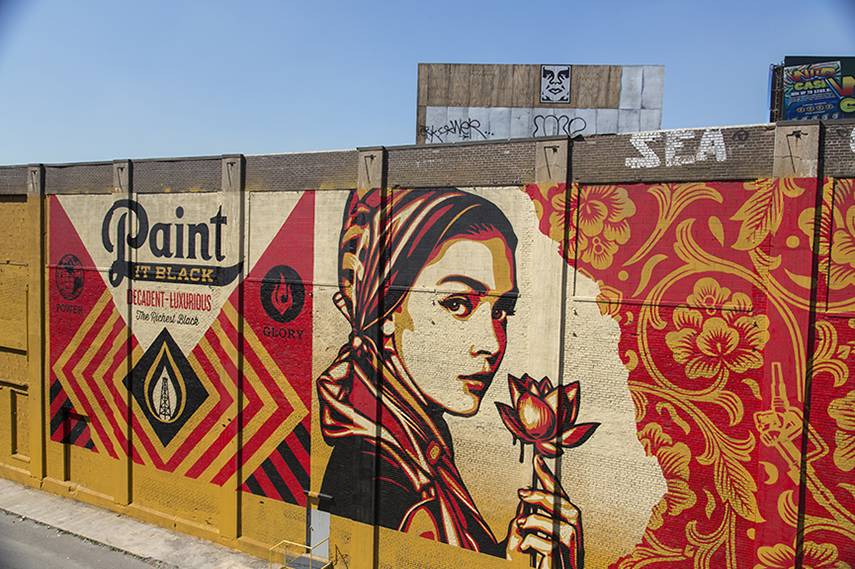 Shepard Fairey largest mural mana contemporary detroit 2015 work media comments detroit like