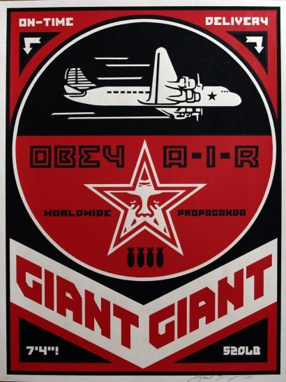 Shepard Fairey-Obey Air-2000