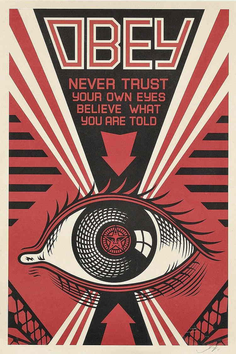 Shepard Fairey-Obey Eye/Andre the Giant/Mayday-2010