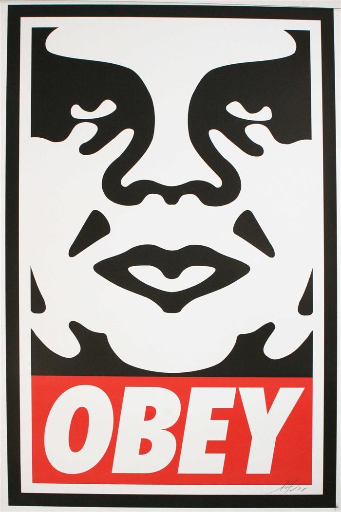 Shepard Fairey-Obey Icon-2011