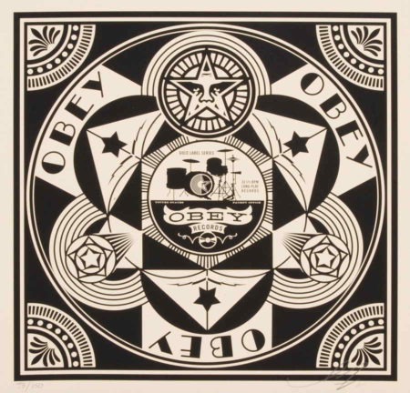 Shepard Fairey-Obey Records-2011