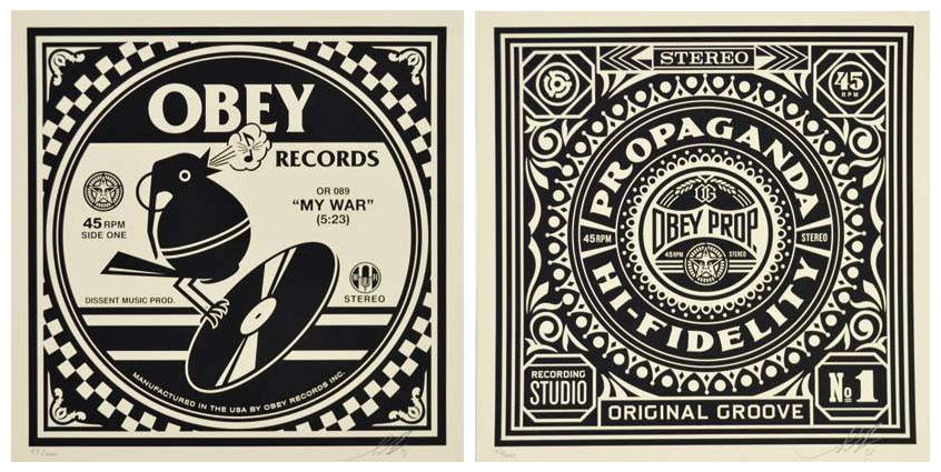 Shepard Fairey-Obey Records-2013
