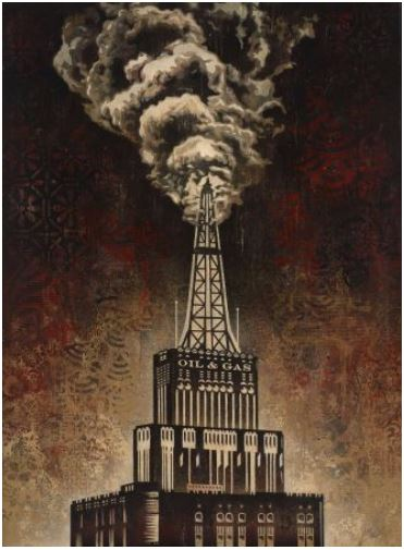 Shepard Fairey-Oil and Gas Building-2014