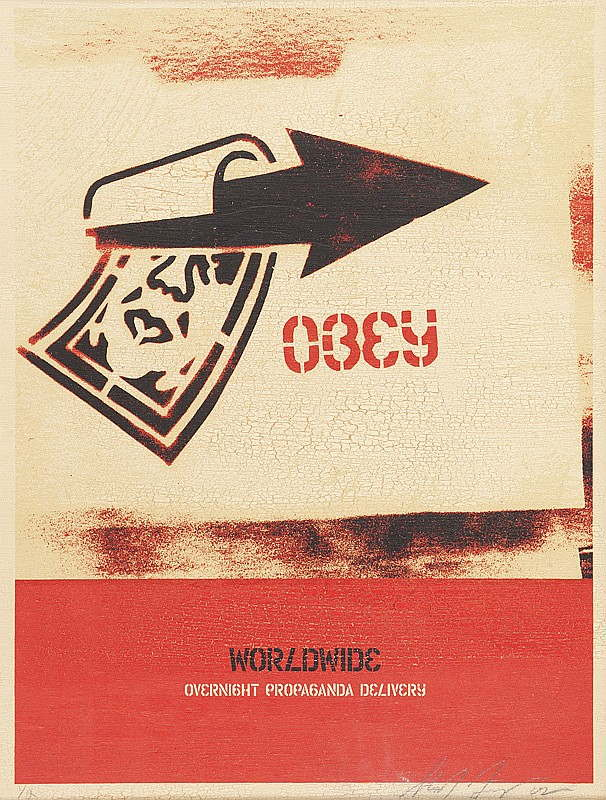 Shepard Fairey-Overnight Delivery-2002