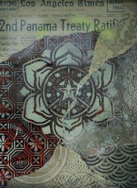 Shepard Fairey-Panama Treaty-2007