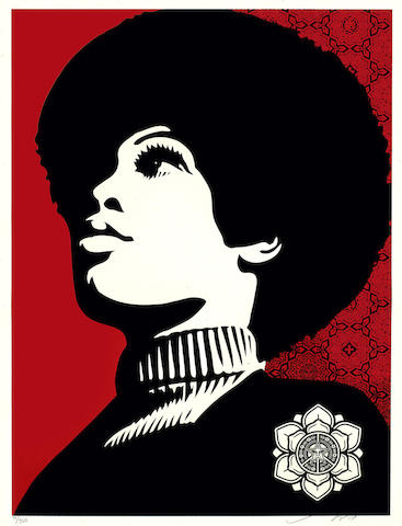 Shepard Fairey-Panther Power-2007
