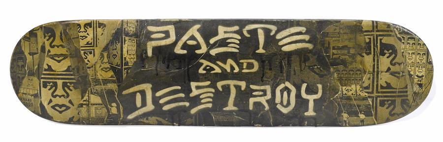 Shepard Fairey-Paste & Destroy-2011
