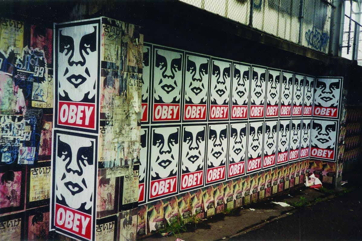 Shepard Fairey - Pasteup, Unknown, 1999