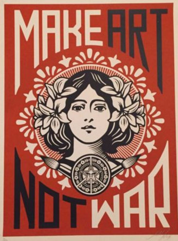 Shepard Fairey-Peace Girl-2005