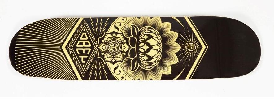 Shepard Fairey-Peace Lotus Deck-