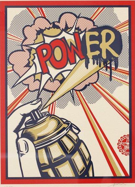 Shepard Fairey-Power-2010