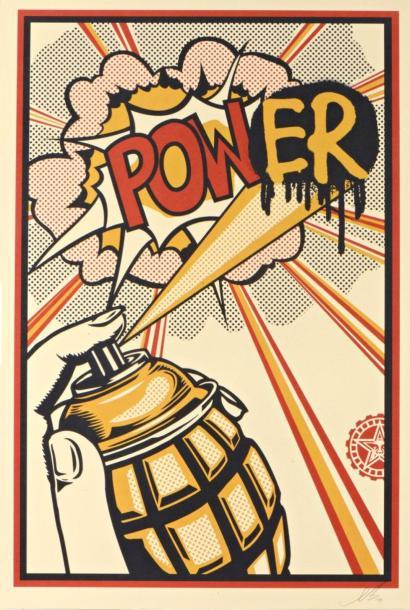 Shepard Fairey-Power-2013