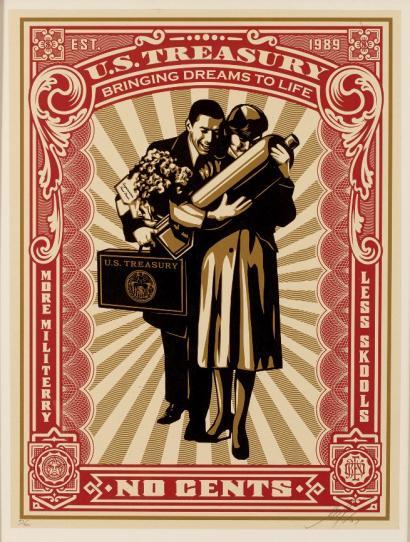 Shepard Fairey-Proud Parents-2007