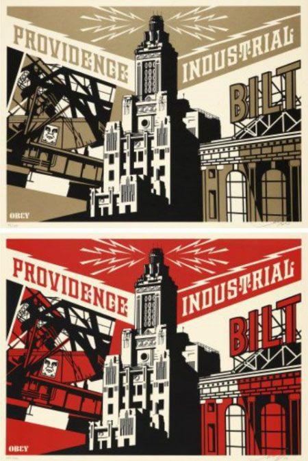 Shepard Fairey-Providence Industrial Set-2010