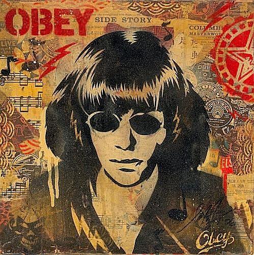 Shepard Fairey-Ramone Album Cover-2006