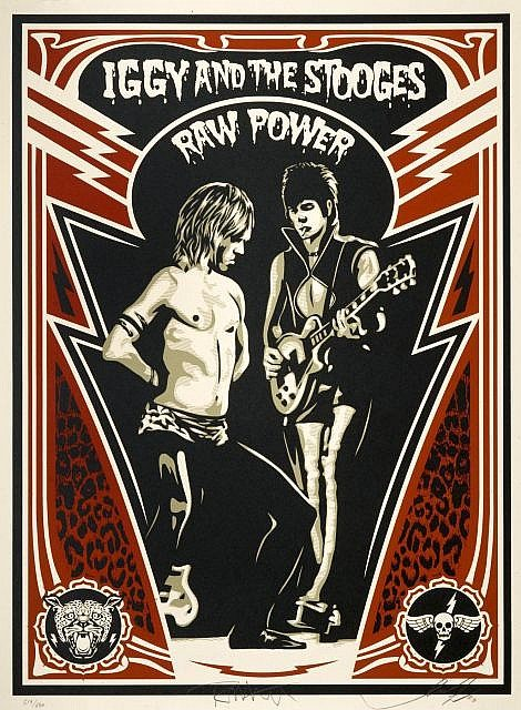 Shepard Fairey-Raw Power-2010