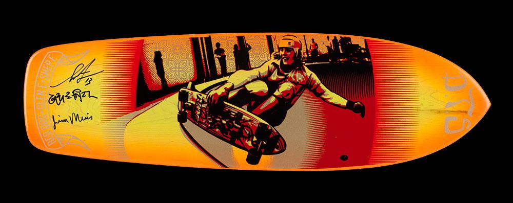 Shepard Fairey-Red Dog, Glen E, Shep F-2013