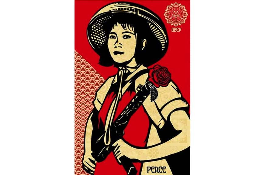 Shepard Fairey - Revolution Woman, 2005