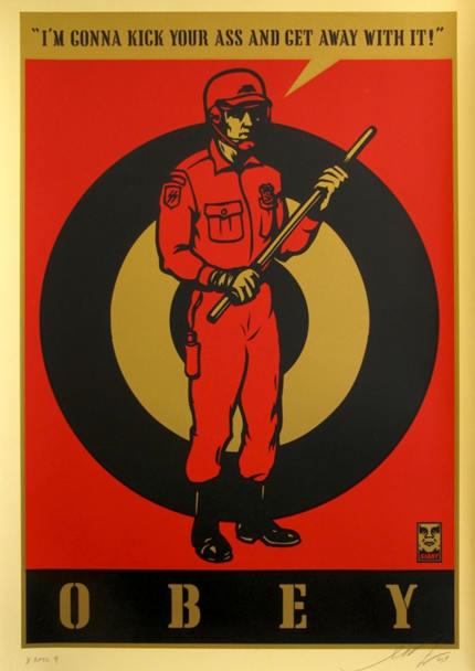 Shepard Fairey-Riot Cop-2009