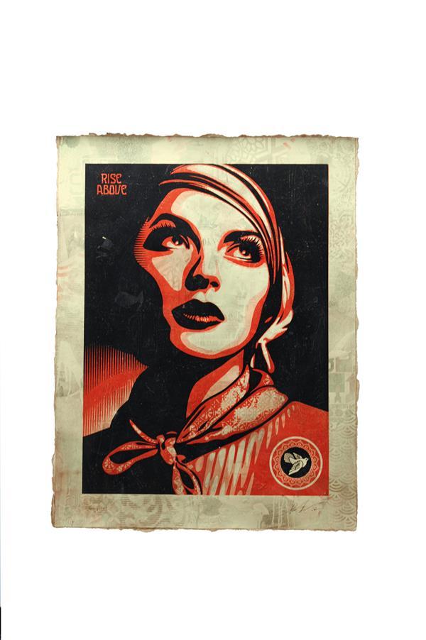 Shepard Fairey-Rise Above Rebel-2012