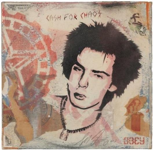 Shepard Fairey-SID JOCOY Album Cover-2003