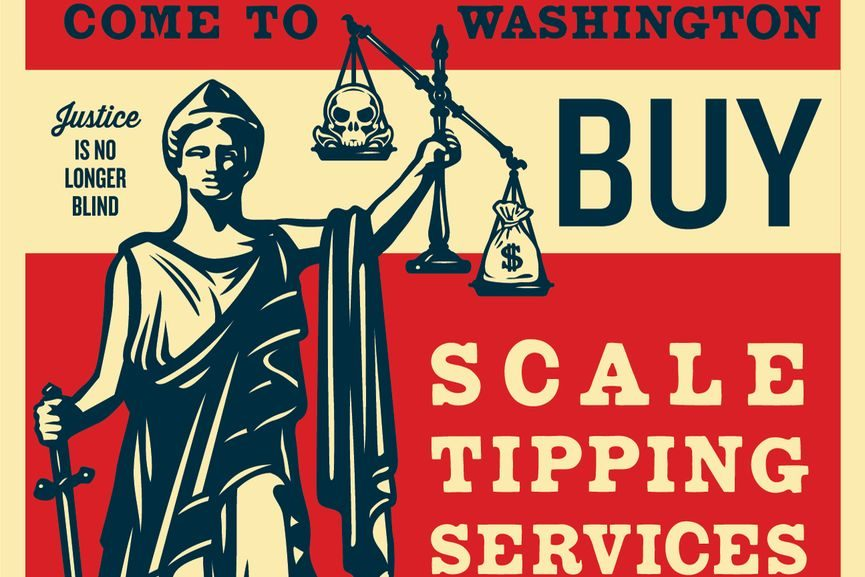Shepard Fairey Scale Tipping Service