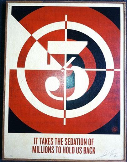 Shepard Fairey-Sedation Of Million-2012