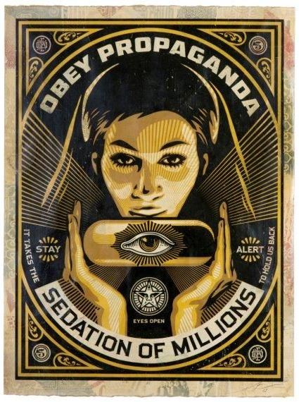 Shepard Fairey-Sedation Pill-