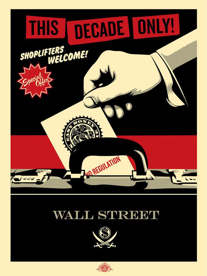 Shepard Fairey-Shoplifters-